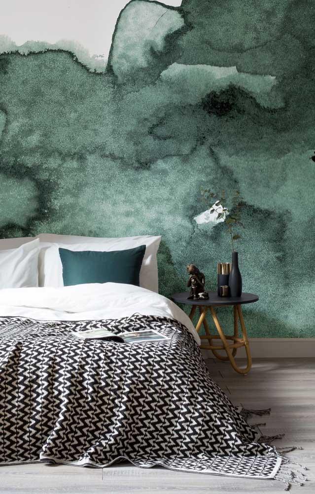 Com a pintura marmorato você pode ter como resultado uma textura diferenciada.