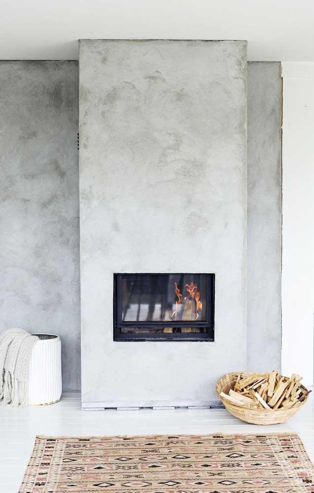 Que tal deixar um efeito de cimento cru na parede com a técnica marmorato?