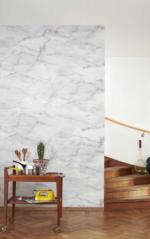 O marmorato deixa qualquer ambiente mais sofisticado e elegante.
