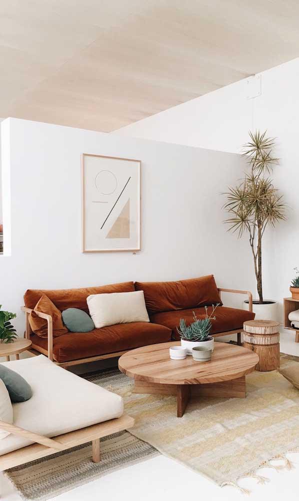 Para uma decoração mais rústica, saiba combinar os móveis.