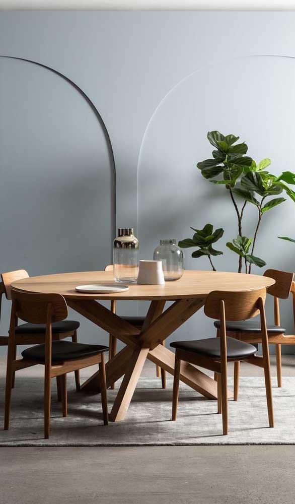 Que tal optar por um modelo de mesa de madeira mais sofisticado?