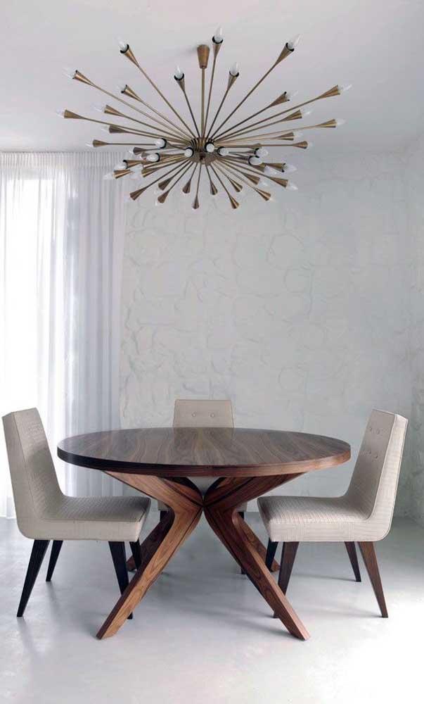 Olha que mesa linda e sofisticada.