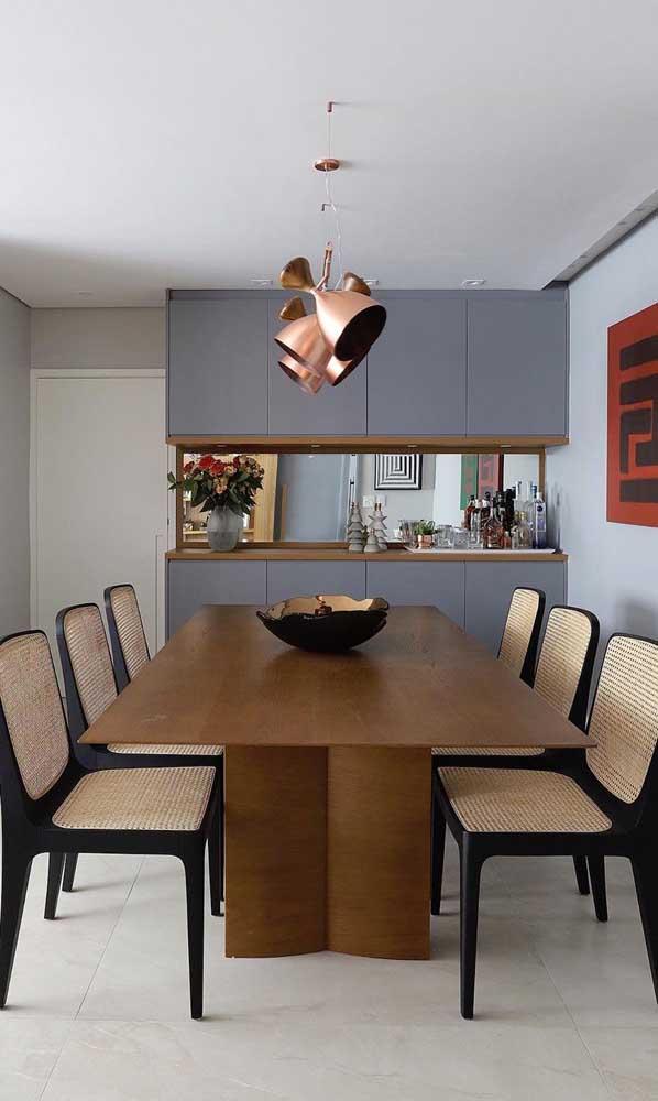 Para quem deseja ter um ambiente mais elegante e sofisticado.