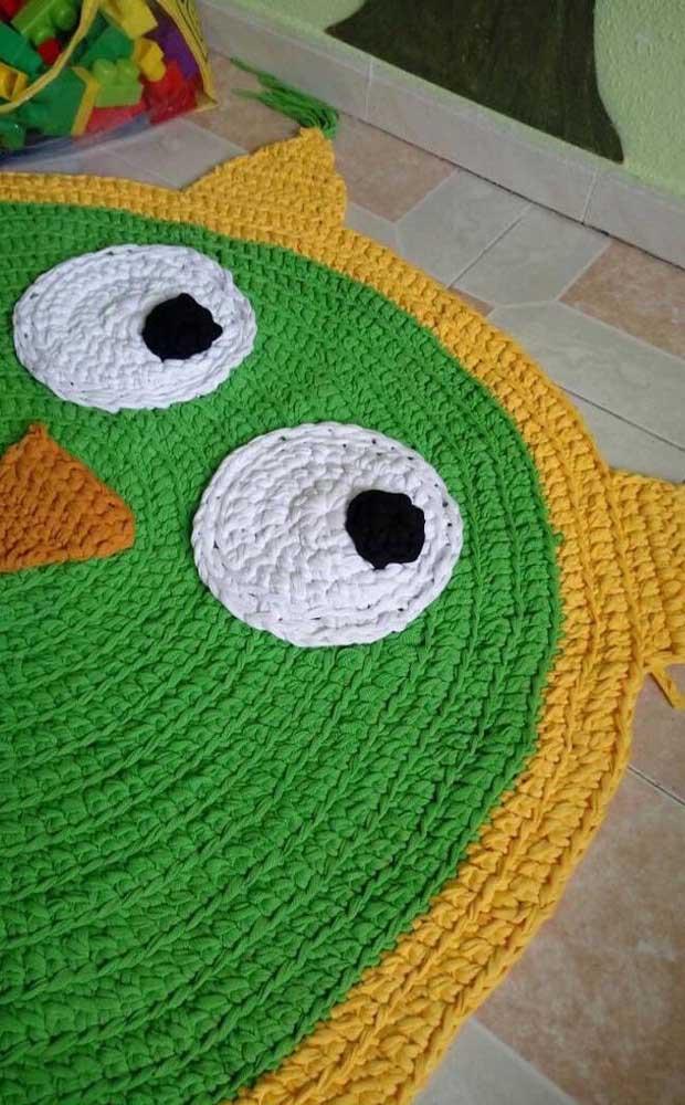 Já sabe a cor que você vai usar no tapete de coruja?