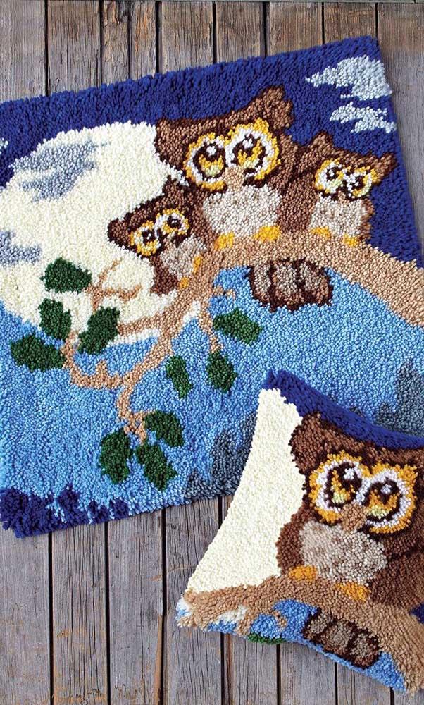 Escolha a família coruja para decorar a sua casa.