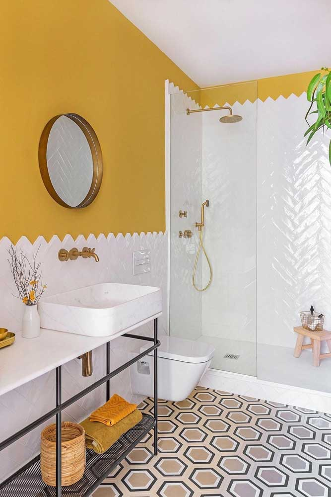 A decoração do banheiro feminino deve seguir o seu estilo.