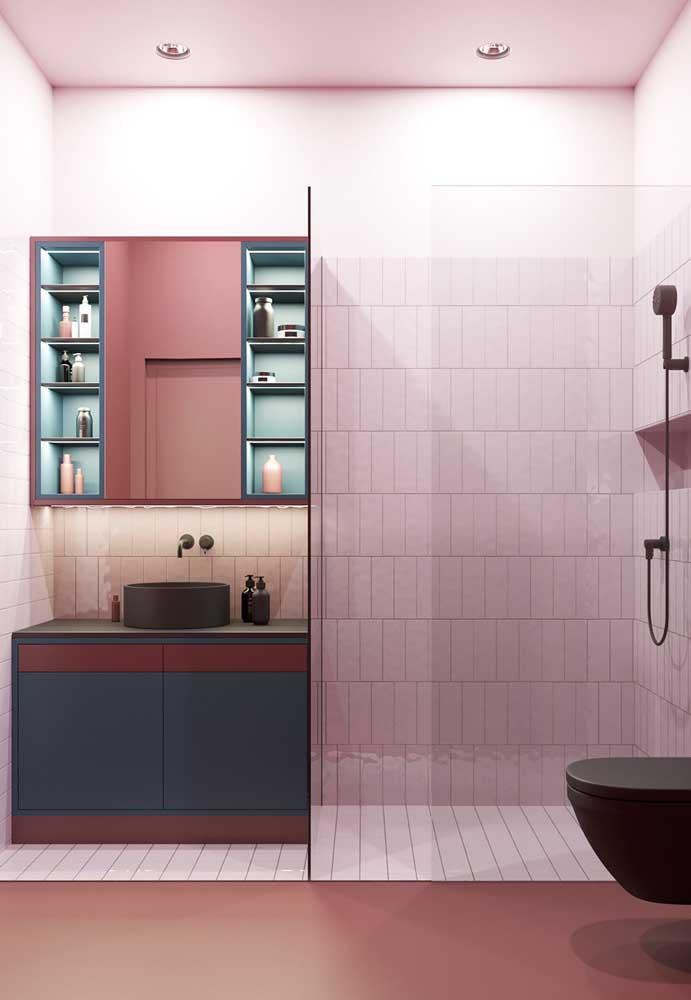 Então capriche na escolha do modelo e estilo de espelho conforme seu banheiro.
