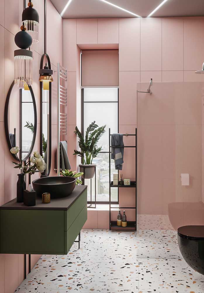 Já pensou na combinação rosa e verde? Veja como é possível criar um ambiente harmonioso com essa combinação.