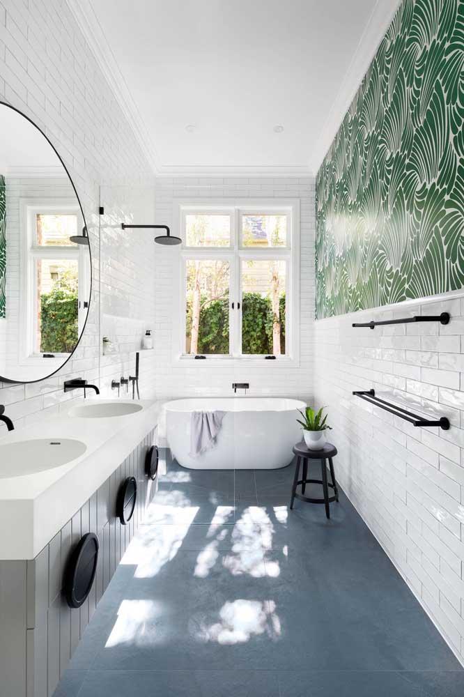 Mas há quem prefira uma decoração mais moderna e sofisticada.