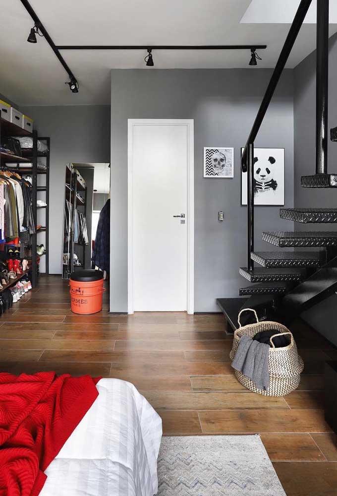 Quer ter uma decoração mais moderna? Aposte na cor cinza.