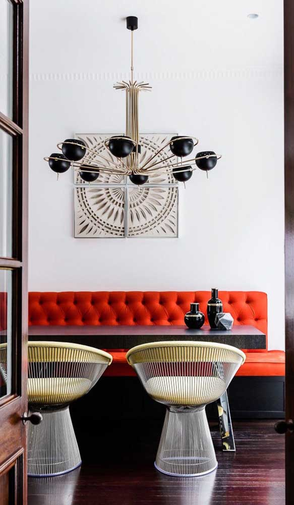 Que tal escolher uma luminária artesanal para decorar a sua sala?