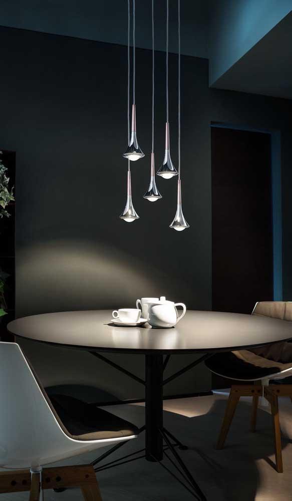 Mas você pode escolher algo mais sofisticado e que combine com a decoração do ambiente.