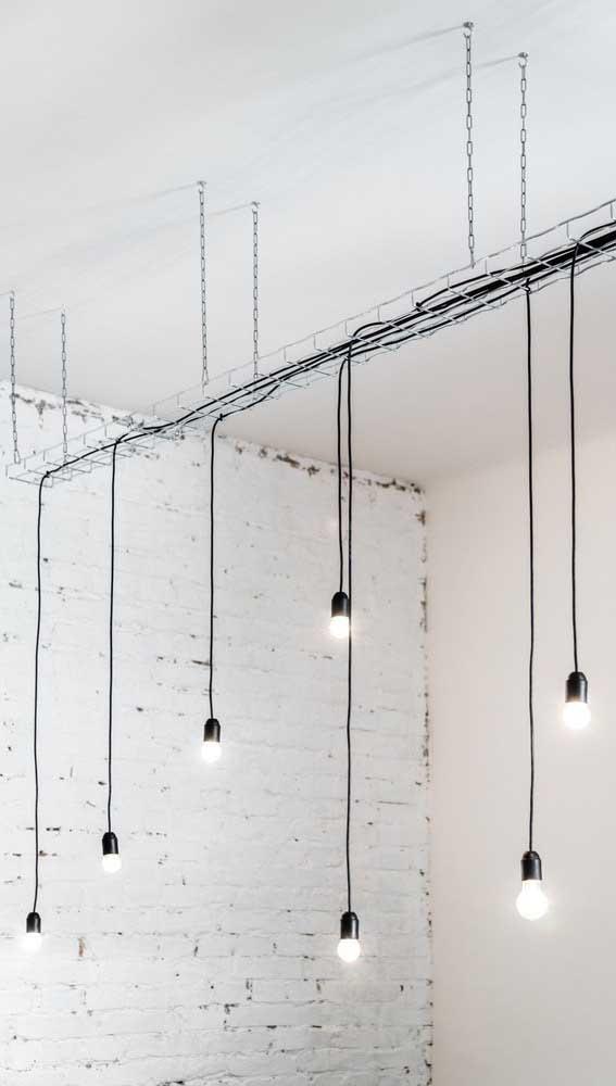 Que tal você mesmo fazer a luminária para decorar algum ambiente da sua casa?