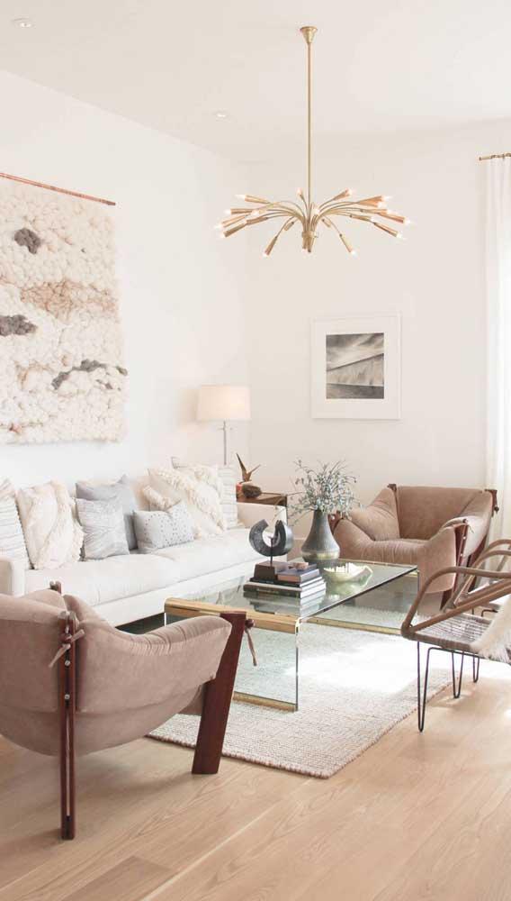 Já sabe que tipo de luminária de teto vai usar na decoração da sua sala de estar?