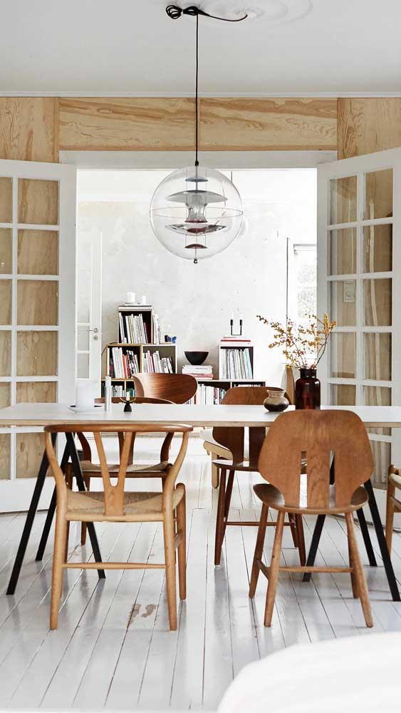Você pode brincar com os estilos na hora de decorar a sua casa.