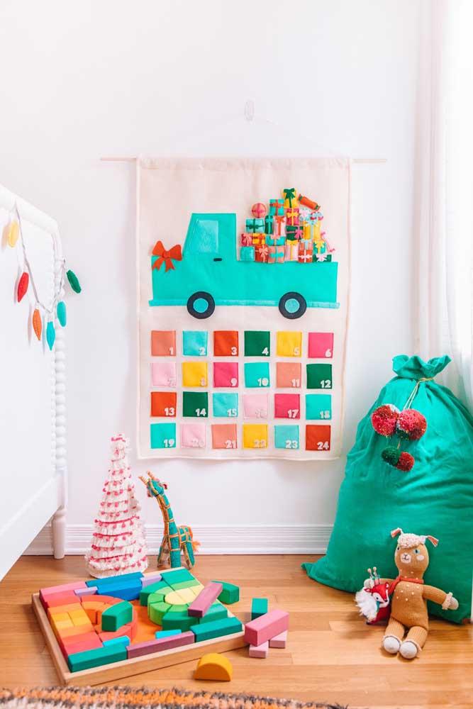 Quer fazer um painel de natal para berçário? Olha que ideia incrível para você se inspirar!