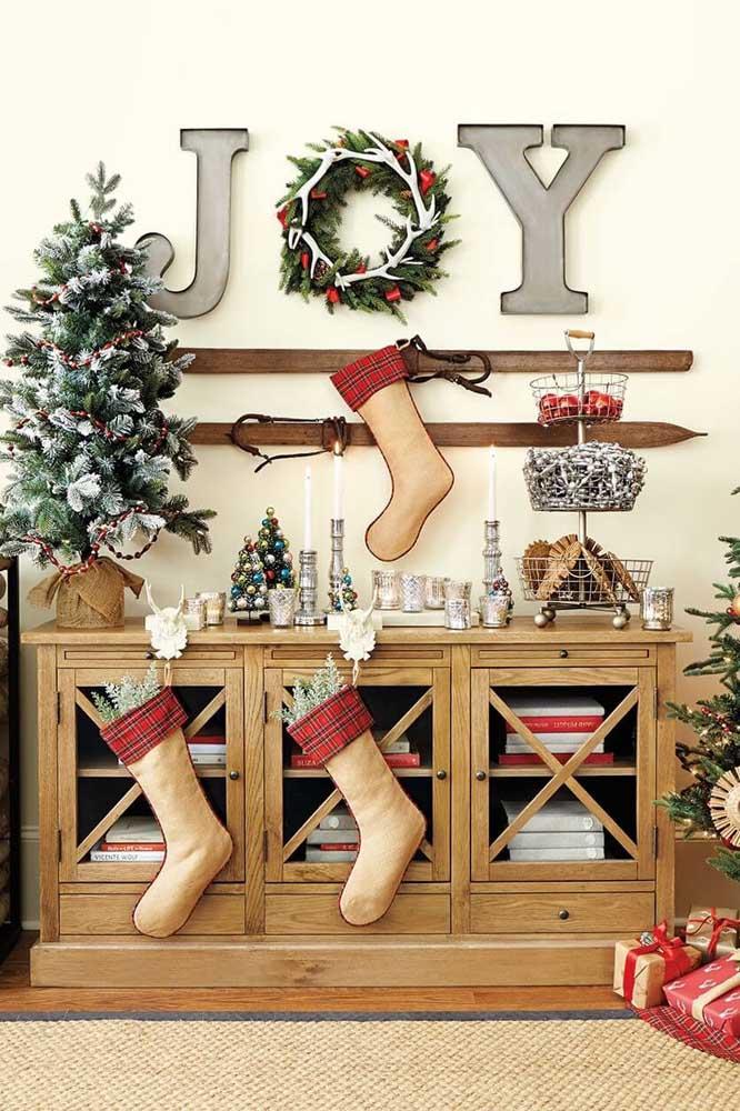 Olha que lindo esse painel de natal para decorar a sua festa de natal.