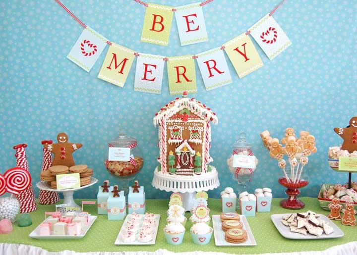 O ideal é fazer uma decoração de natal adequada para cada tipo de ambiente.