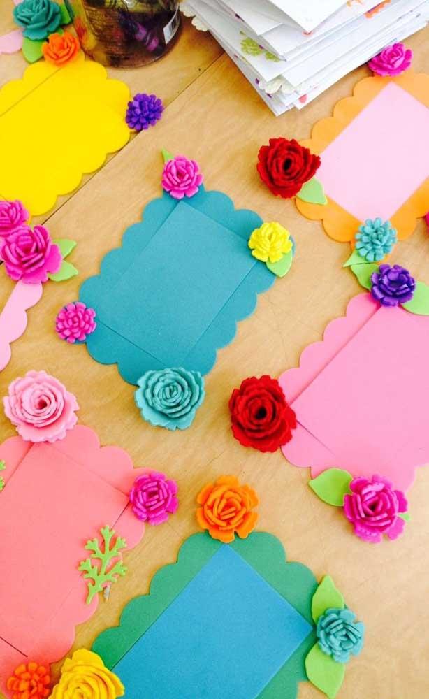 Flores sempre são bem-vindas!