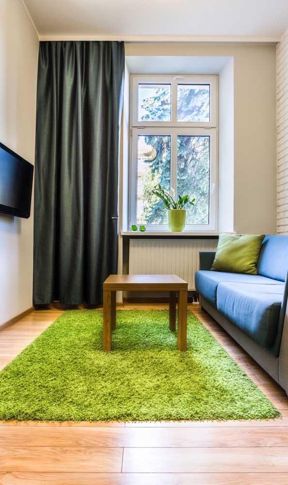 O tapete escolhido deve ser adequado com o estilo da decoração.
