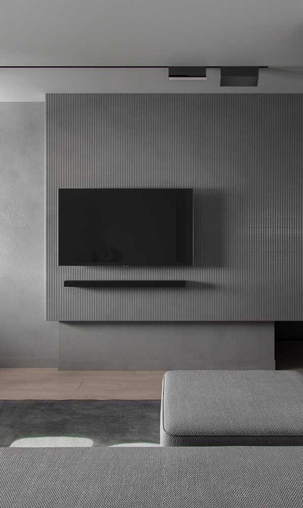 A cor cinza deixa qualquer decoração mais sóbria e ao mesmo tempo extremamente moderna.