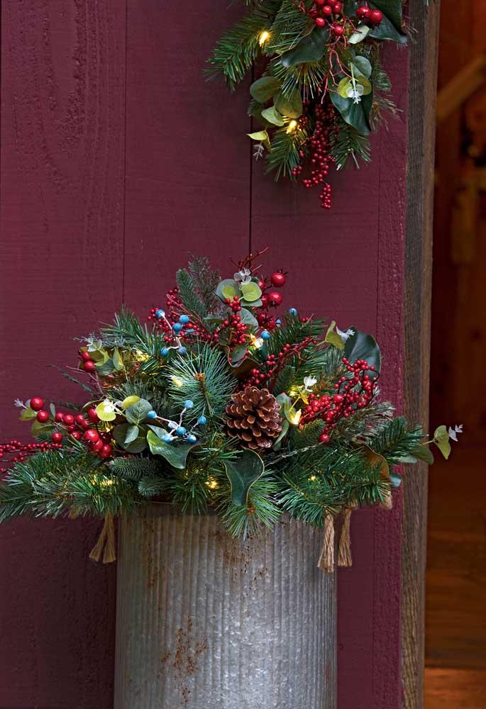 Não deixe de decorar a área externa da sua casa.