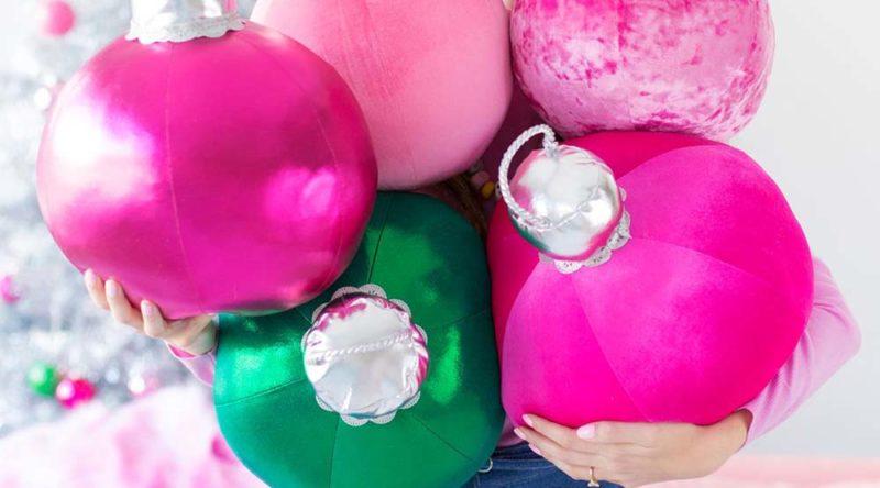 Bolas de Natal: descubra como fazer e 60 ideias inspiradoras