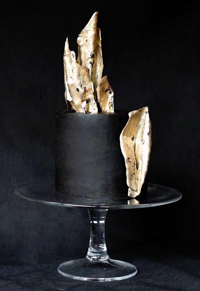 Que ideia genial para você se inspirar na hora de fazer o bolo com o tema halloween.