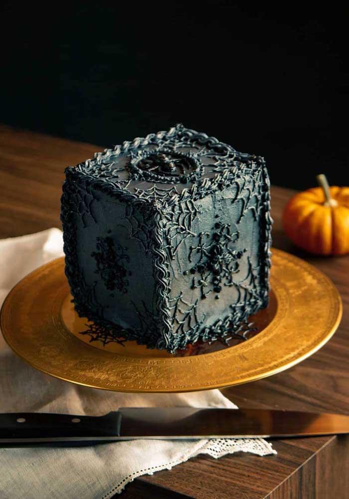 Que tal fazer um bolo halloween individual para seus convidados?