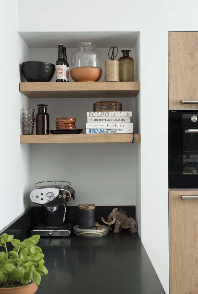 Veja como o cantinho do café cabe em qualquer espaço da sua casa.