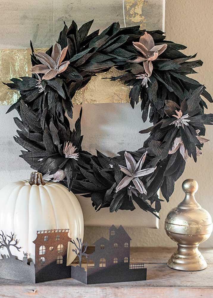 Alguns elementos decorativos não podem faltar na festa Halloween.