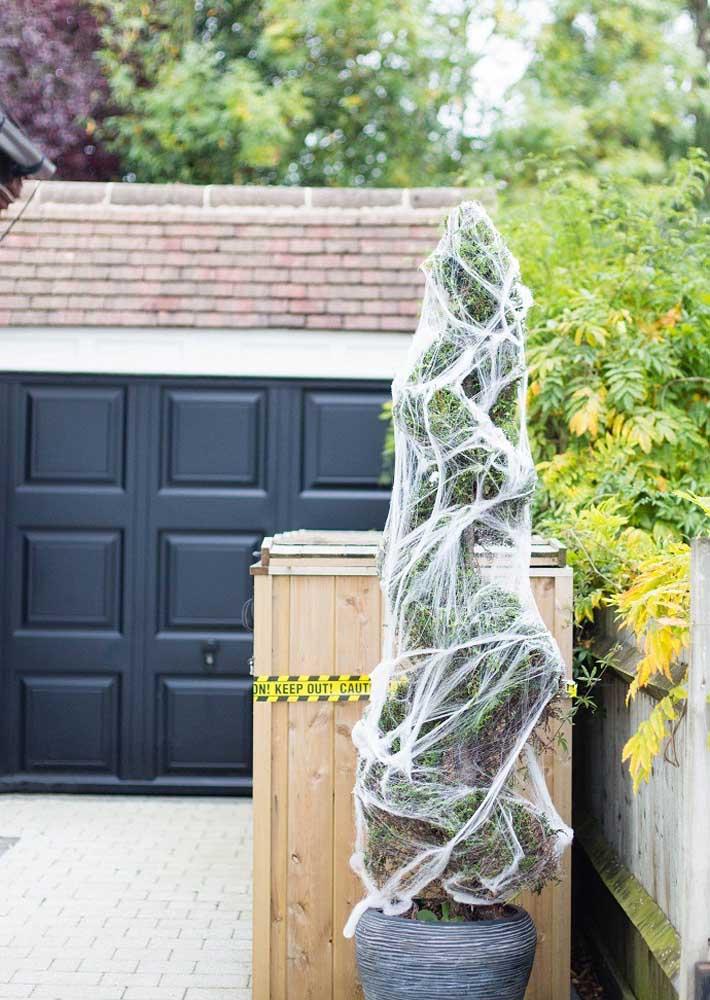 Não esqueça de decorar a parte externa da casa.