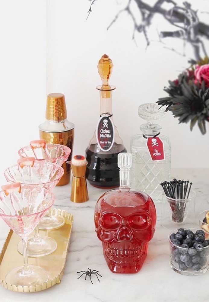 Se inspire para preparar as bebidas da festa Halloween.
