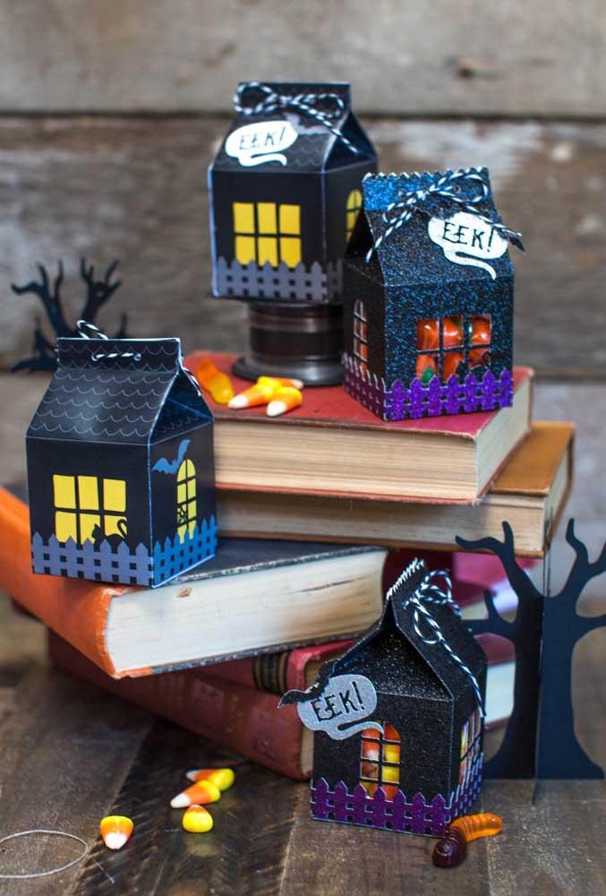 Olha como você pode preparar as lembrancinhas festa Halloween para as crianças.