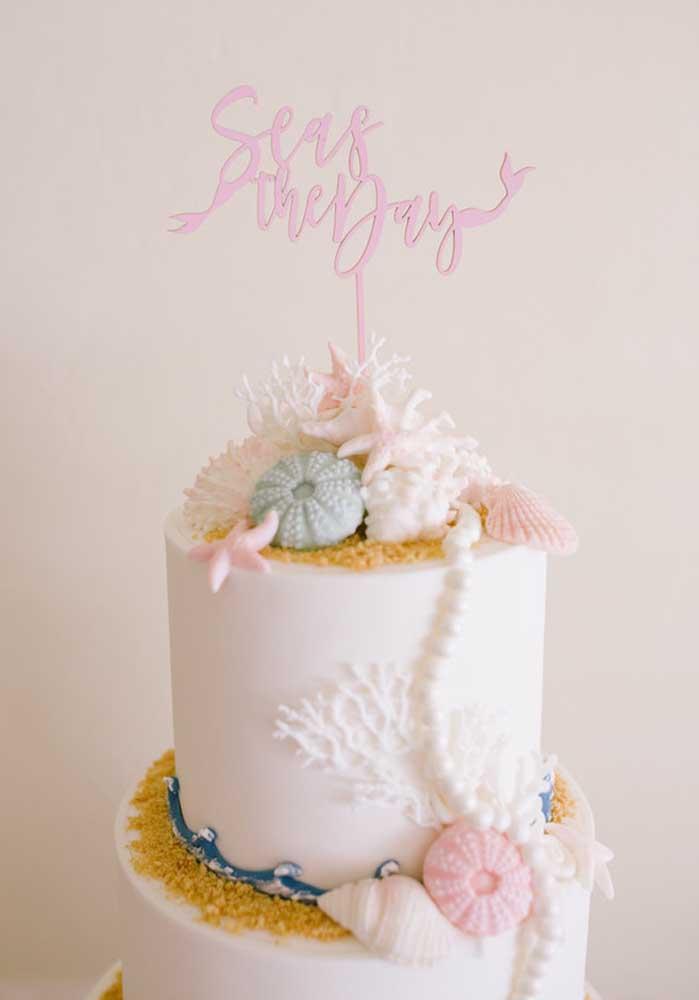 Sabia que é possível fazer um bolo sereia chantilly?
