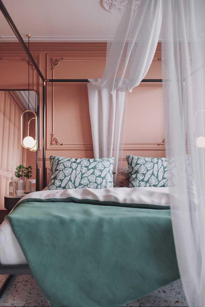 A maioria das mulheres prefere um quarto romântico.