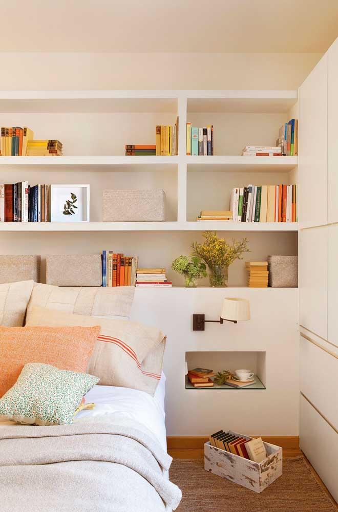 Que tal unir o quarto com biblioteca?