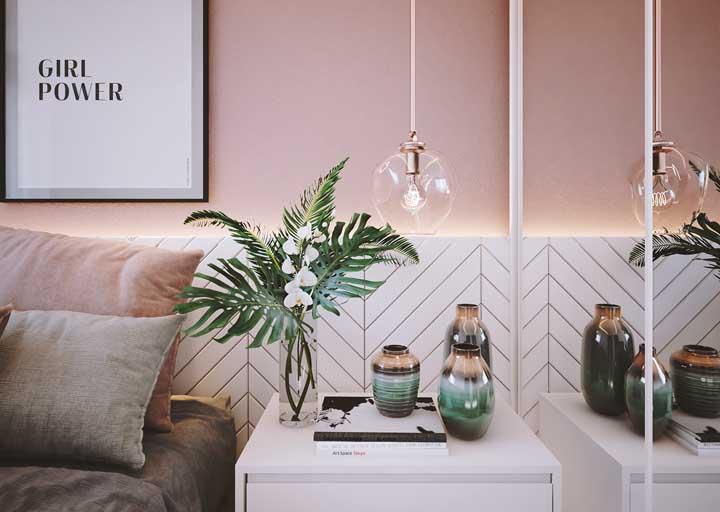 Escolha peças que combinem com toda a decoração do quarto feminino.