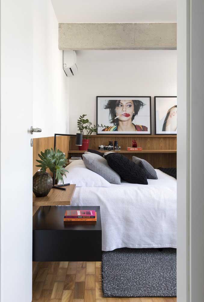 Independente se o quarto for pequeno ou não, o mais importante é fazer uma decoração com a sua cara.