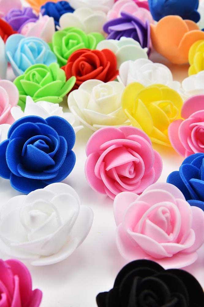 Quer fazer um artesanato em EVA para o dia das mães? Faça flores porque as mamães amam.