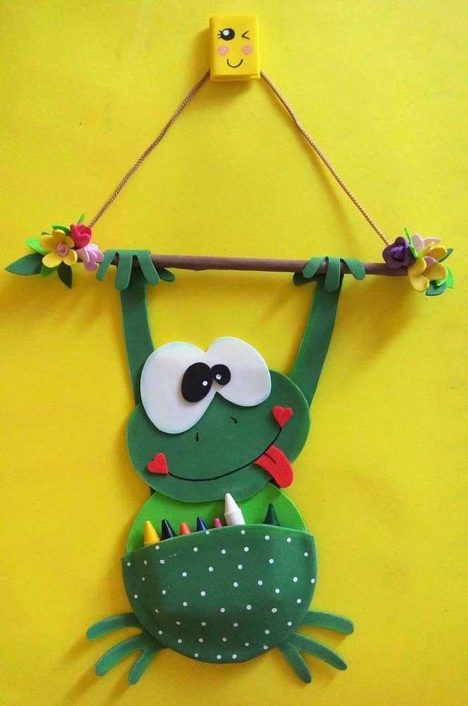 Aposte em objetos divertidos para decorar a sala de aula.