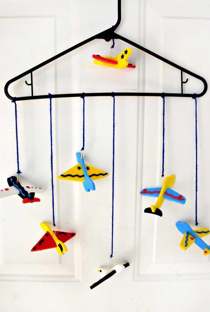 Que tal decorar o quarto infantil com peças feitas em EVA?
