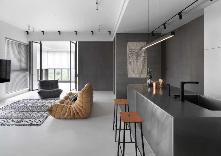 Ou uma decoração mais moderna e sofisticada?
