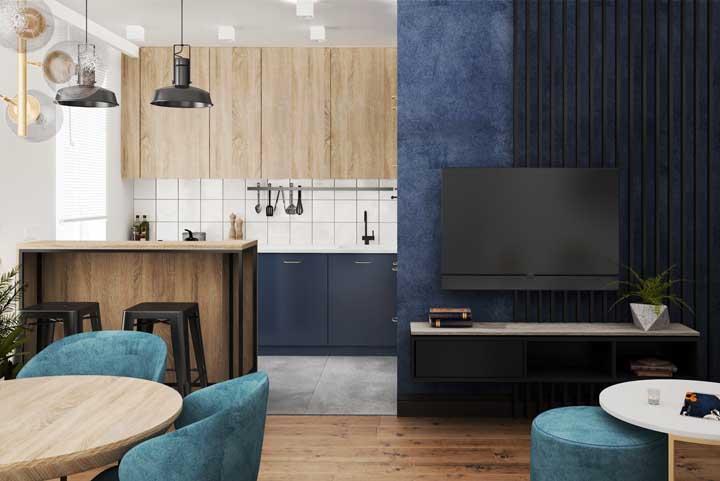 A cozinha americana com sala pode ser a opção perfeita para decoração da sua casa.
