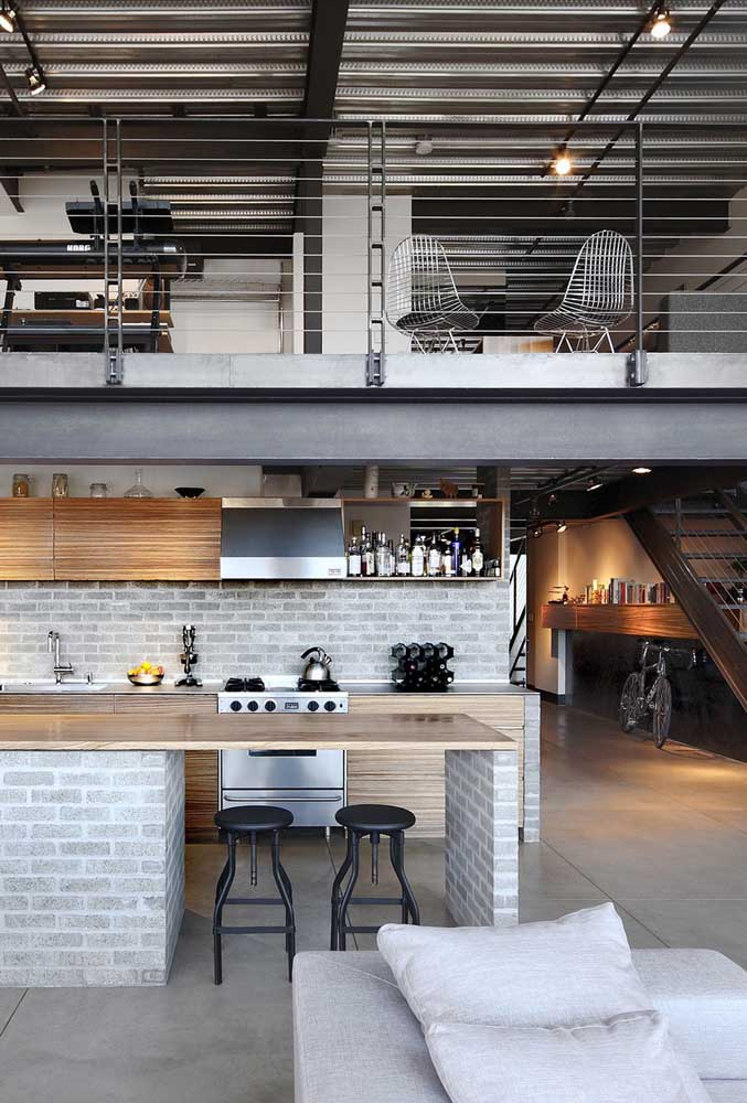 Que tal fazer uma decoração diferenciada na sua cozinha americana com sala?
