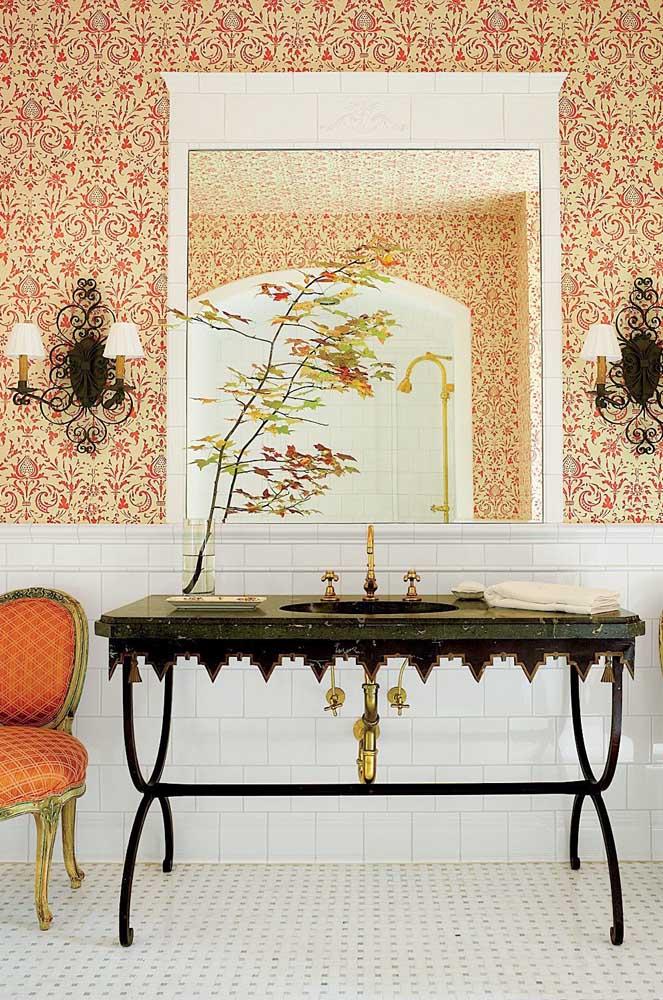 Vários detalhes dessa decoração seguem o estilo provençal.