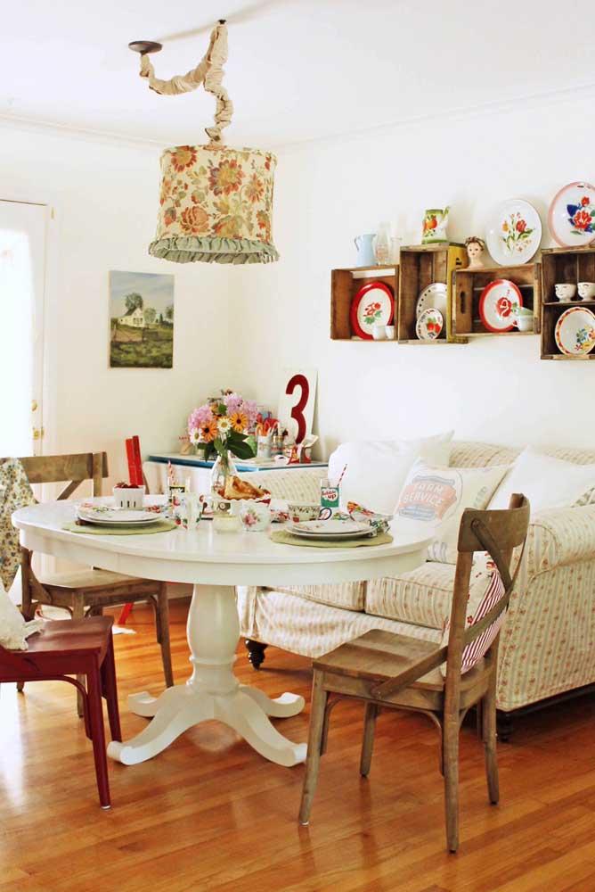 A decoração de mesa provençal deve misturar alguns elementos característicos desse estilo.