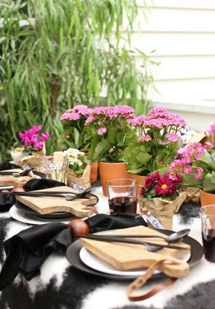 Você pode servir os convidados de diferentes formas.