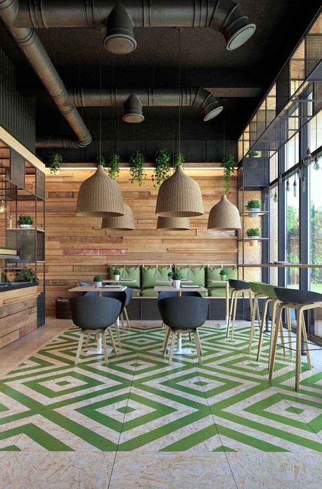 Uma mistura de estilos em um mesmo espaço só pode dar nisso.