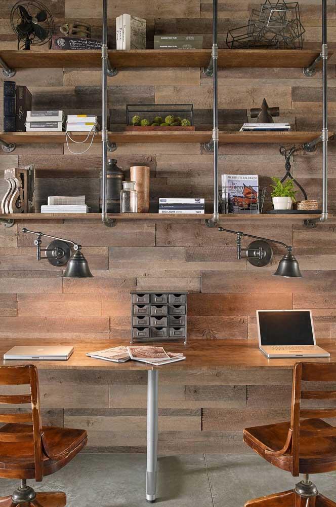 Você já pensou em ter um home office como esse?